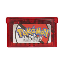 Nintendo GBA Video Game Console Card Pokemon Ash Grey