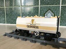 Lego Train custom tanker wagon (Guinness )