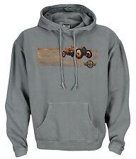Indianapolis Indy 500 Motor Speedway Mens Retro Hoodie Hooded Sweatshirt