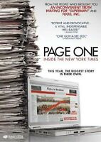PAGE ONE - INSIDE THE NEW YORK TIMES (DVD)