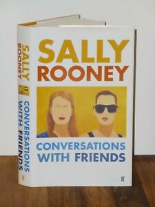 1st Print Conversations With Friends Sally Rooney Faber 2017 UK HB Normal People