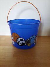 Boys Sport Themes 5 Quart Plastic Bucket Party Favors New Soccer Football Balls