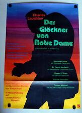 GLÖCKNER VON NOTRE DAME * LAUGHTON, O´HARA - A1-Filmposter WA - R1960s
