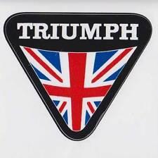 TRIUMPH MOTORCYCLES TRIANGLE PVC AUFKLEBER (MBRPVC018)