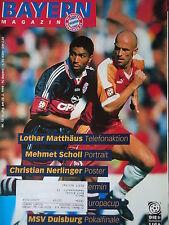 Programm 1997/98 FC Bayern München - 1. FC Köln