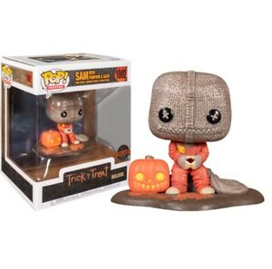 TRICK 'R TREAT FUNKO POP 1002 SAM WITH PUMPKIN AND SACK SPECIAL EDITION FIGURE