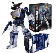 Transformers G1 Style Soundwave & Laserbeak Tape Toy Action Figure New in Box