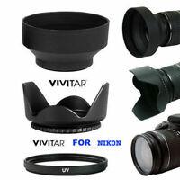 HARD Hood/UV/ RUBBER HOOD  for Nikon HB-69 AF-S DX 18-55mm f/3.5-5.6G VR II