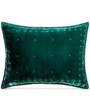 """Martha Stewart Collection Green Tufted Velvet 20"""" X 26"""" Sham T410411A"""