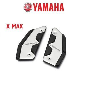 PEDANE POGGIA PIEDI ALLUMINIO ORIGINALI YAMAHA PER X-MAX 125 300 400 2017 2018