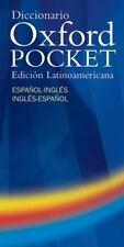 Diccionario Oxford Pocket: Edicion latinoamericana espanol-ingles/ingles-espano