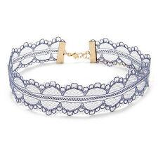 Retro Hollow Lace Choker Chain Flower Necklace Lady Collar Chocker Jewelry ZY