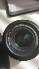 Panasonic Microphonic Saz Leica Dg Summilux 25Mm F1.4 Monofocal Standard Lens