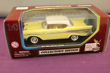 Road Legends Collector's Edition 1957 Chevrolet Bel Air 1:43 Yellow