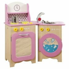 Millhouse Packaway Pink Wooden Toy Kitchen New in Box