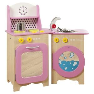 Millhouse Packaway Pink Wood Toy Kitchen  -- BRAND NEW IN BOX --