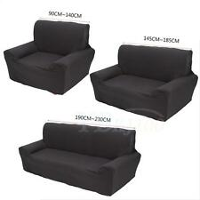 Elastic Slipcover Solid  Sectional Sofa Couch Covers Slip 1/2/3-seater Elastic