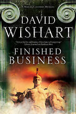 Finished Business: A Marcus Corvinus Mystery set in Ancient Rome-ExLibrary