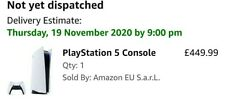 PlayStation 5 PS5 Console Standard edition - Confirmed pre order