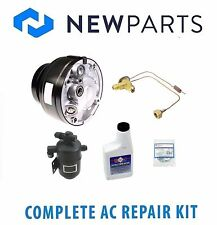 Mercedes 1979-1980 300SD NEW AC A/C Repair Kit with OEM Compressor & Clutch
