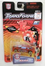 Hasbro Transformers Robots in Disguise RID Spychanger W.A.R.S. Clear Red Recolor