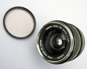 "Scarce Canon FD 24mm f/2.8 Chromenose ""0"" 1st Gen WA Excellent Film & Mirrorless"