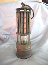 ANTIQUE VINTAGE WOLF MINER'S SAFETY LAMP LANTERN