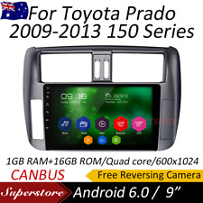 "9"" Android 6.0 quad core GPS Car Multimedia player For Toyota Prado 150 Series"