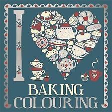 I Heart Baking Colouring-ExLibrary