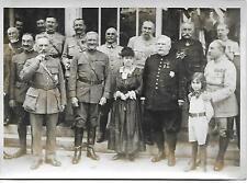 Photo - Année 1938 - Généraux PERSHING - FOCH, DUBAIL & JOFFRE