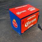 Vintage 1960's Cervezas ModeloCorona Beer Gullwing cooler Pepsi Coca Cola Coke