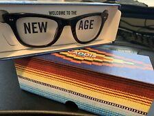 CADDIS PORGY Backstage ACETATE +1.50 Reading glasses GLOSS BLACK readers