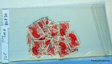 FRANCE - Pochette de 20 timbres oblitérés Yt 2376 Type 2   POF20