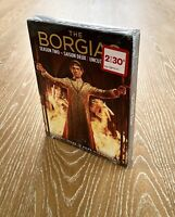 The Borgias Season 2 Two Uncut Edition Jeremy Irons Factory Sealed DVD