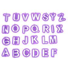 40pcs Icing Cutter Mold Alphabet Mould Number Letter Fondant Cake Decorating Set