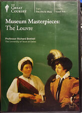 Museum Masterpieces: The Louvre DVD - The Great Courses by Professor Brettell