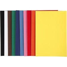 10 Blatt VELOUR PAPIER DIN A4 Velourpapier mit Samt-Oberfläche 140g/m² 2086