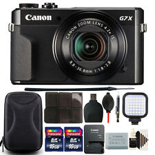 Canon PowerShot G7 X Mark II 20.1MP Digital Camera with 32GB Accessory Bundle