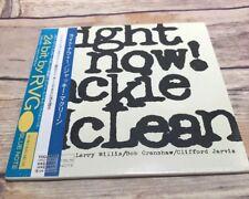 JACKIE MCLEAN Right Now! TOCJ-9533 CD JAPAN 2003 OBI