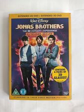 Jonas Brothers - The 3D Concert Experience (DVD, 2009, 2-Disc Set)✉️FREE POST