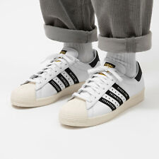 Adidas Superstar 80s Human Made White Trainers Shoes RRP £119.95