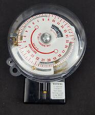 Sangamo Q551 13 14 3 Pin Base RPTS 24 Hr Round Pattern Time Switch