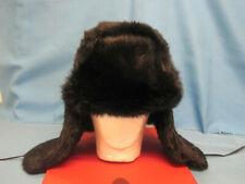 Hat. Fur Rabbit. Ushanka. Russian.