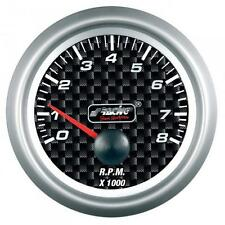STRUMENTO CONTAGIRI 0-8000 RPM CARBON LOOK SIMONI RACING MANOMETRO