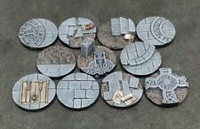 25mm resin bases Frostgrave Mordheim Dungeons and Dragons Age of Sigmar