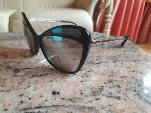 Ladies Chanel Butterfly Black Silver  Sunglasses Genuine  c.501/6G