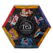 Alice In Wonderland Tea Gift Set 6 Flavors 48 Bags Disney World Theme Parks NEW