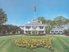 Augusta National Golf Club Clubhouse -'Blue Sky' Giclee print   11x14