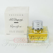 ST DUPONT SIGNATURE 3.3 OZ Eau de Toilette for Men - NEW TESTER WITH CAP