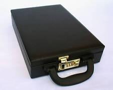 Jewelry Black Box /Jewelry watch case Organizer Storage Display Briefcase
